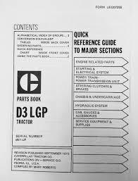 caterpillar cat d3 6n 1 885 dozer parts manual book ueg0725s caterpillar cat d3 parts manual book s n 6n 1 885 ueg0725s
