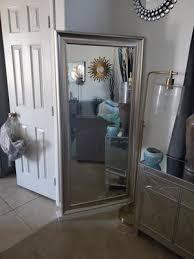 full length leaner mirror champagne