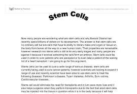 anti stem cell research paper ethical issues in stem cell research ncbi nih