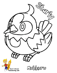 Empoleon Coloring Page - Kids Coloring