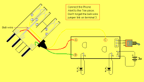 poptronics phone alert the wiring diagram for the phone alert