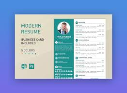 Resume Template Modern Magnificent Resume Modern Template 48 Modern Resume Templates With Clean Elegant