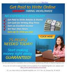 earn internet money how to make money from home real writing get cash for writing blog post