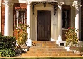 elegant front doors. Elegant House With Steps And Fiberglass Front Door Doors