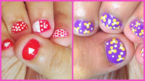 Beautiful Short Nail Art Video Tutorial
