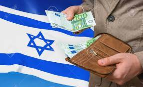 Investing Money To Israel. Rich Man With A Lot Of Money In His.. Stock  Photo, Picture And Royalty Free Image. Image 137679014.