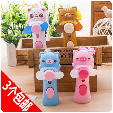 electric hand fan with water spray. get quotations · cartoon doll portable water spray battery mini fan hand-held baby child small electric hand with t