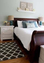 white bedroom with dark furniture. Amazing Master Bedroom Makeover - You Won\u0027t Believe What It Looked Like Before! White With Dark Furniture