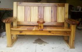 cedar double bench chair reader39s gallery fine woodworking cedar bench plans cedar bench plans