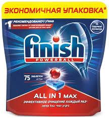<b>Таблетки FINISH 3122698</b> AIO бесфосфатные — купить в ...
