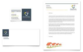 Homeowners Association Business Card & Letterhead Template - Word ...