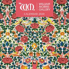 William Morris Textile Designs Amazon Com William Morris Gallery Mini Wall Calendar 2020