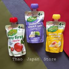 Thảo Japan Store - Hoa quả nghiền Rafferty's Garden cho bé 4m+ Giá: 75k  Xuất xứ: Úc Trọng lượng: 120g ?Đặc điểm của hoa quả nghiền là rất mát,giúp  bé tiêu hoá,output