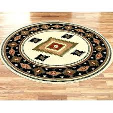 8 ft round area rug rugs black ivory 7 foot kitchen wool karastan 8x10 starburst red