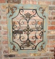 wood metal wall decor french wall decor fresh rustic turquoise wood metal wall decor rustic french