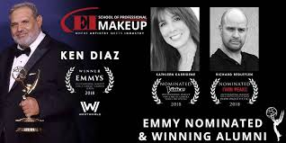 areas of makeup including beauty corrective theatrical live performance high fashion photographic television film and special effects makeup