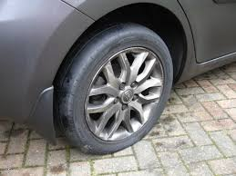 flat tire.  Flat Yep  That Tyre Is Definitely Flat Bother It Inside Flat Tire