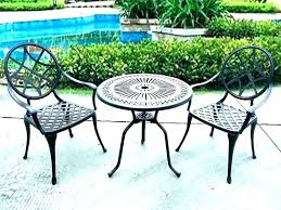 metal patio table and chairs set small outside table and chairs small porch table small patio