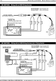 msd 7al 2 ignition pn 7220 7224 7226 pdf harness pn 8877 1996 on gm vehicles