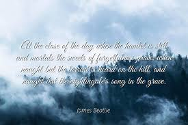 Amazoncom James Beattie Famous Quotes Laminated Poster Print