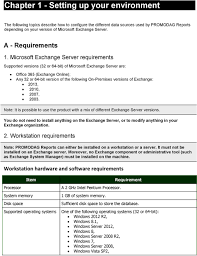 Promodag Reports 10 For Microsoft Exchange Server Reporting On