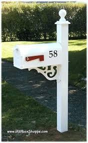 mailbox protector decorative post ideas base design 6x630 design