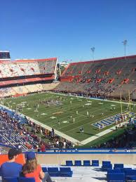 Ben Hill Griffin Stadium Section 63 Home Of Florida Gators