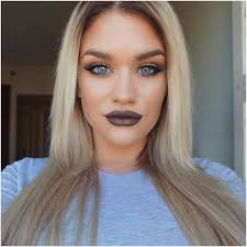 how to rock dark lip makeup trend