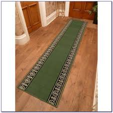 hunter green runner rug