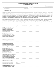 employee evaluation form sample employee performance employee evaluation sample 01