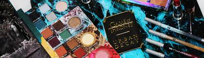 urban decay x game of thrones makeup collection review swatches fire ice makeup looks