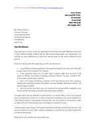 University Application Cover Letter Sample Gallery Cover Letter