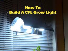 Homemade Cfl Grow Light Fixture How To Make A Cfl Grow Light Instructables