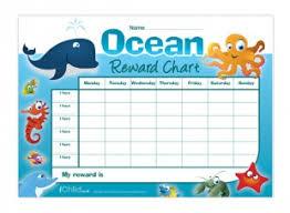 Animal Activity Chart Ocean Animals Reward Chart In Colour Ichild