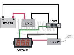 ultra small dc 0 50a digital ammeter 0 36\
