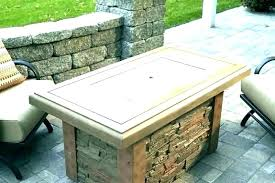 gas fire pit cover square fire pit cover metal outdoor covers backyard patio art pits square