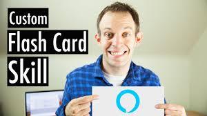 Alexa Skill Card Design Custom Flash Card Skill Alexa Skill Blueprints Flashcards Skill
