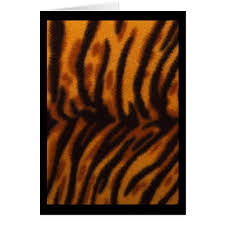 orange and black tiger print rug photograph card zazzle tiger print throw rugs