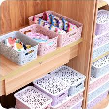 Adeeing <b>Creative Plastic Desktop</b> Hollow <b>Storage</b> Basket ...