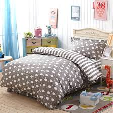 Single Bed Quilts Patchwork Single Bed Quilt Covers Australia King ... & King Single Bed Linen Australia Gray Cloud Bedroom Cotton 3pcs Bedding Set  Twin Single Bed Duvet Adamdwight.com