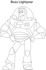 Small Picture Buzz Lightyear Coloring Pages Buzz lightyear coloring page for