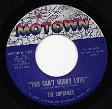 You can't hurry love is a 1966 song originally recorded by the supremes on the motown label. The Supremes The Supremes You Can T Hurry Love 45 Rpm Amazon Com Music