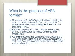 Apa Helps Connection Between In Text Citations And The Reference