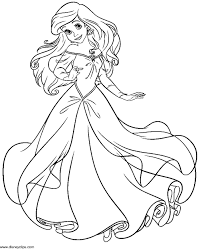 Adult Little Mermaid Coloring Page Little Mermaid 2 Coloring Pages