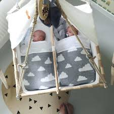 Twin Baby Swing Set Fern Living Twin Cradle If We Could Afford It ...