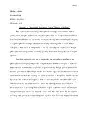 allegory study resources 3 pages squirt allegory of the cave essay