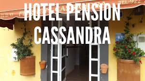 Adelaida Pensionne Hotel Hotel Pension Cassandra In Buzanada Tenerife Spain Youtube