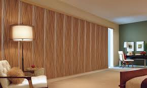 glass door window treatments skyline