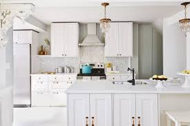 All White Kitchen Designs Decor Custom Design Ideas