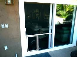 sliding door pet insert sliding glass door pet door insert home depot